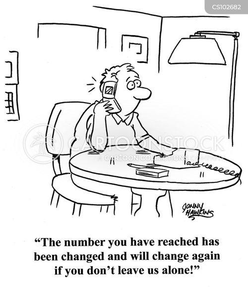 phone company cartoon