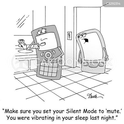 vibrate cartoon