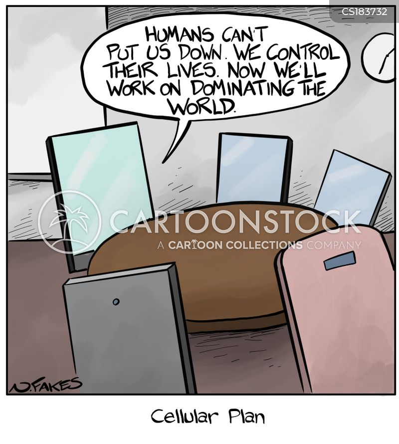 Phone Plans Cartoons and Comics - funny pictures from