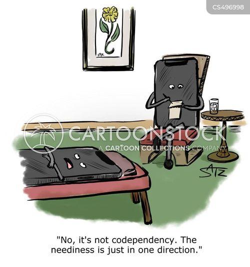 codependency cartoon