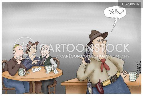 shooting yourself cartoon