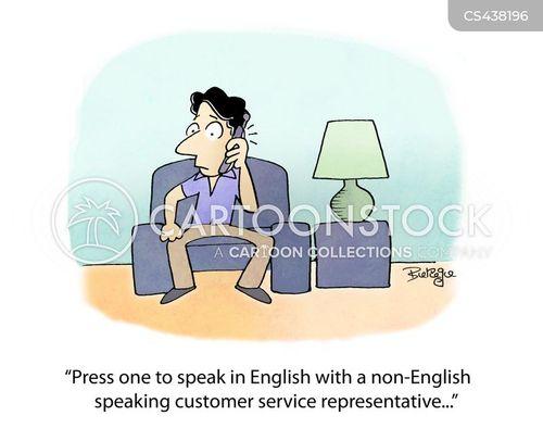 call line cartoon