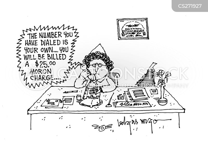 dialled cartoon