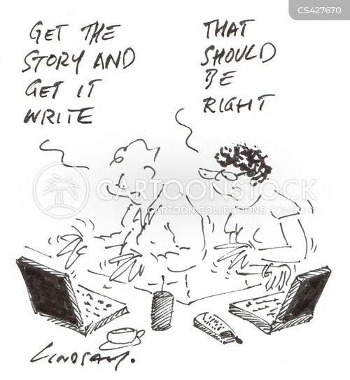 sub-editor cartoon