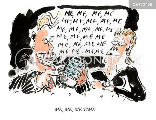 modern culture cartoon