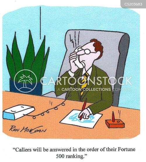 fortune 500 company cartoon
