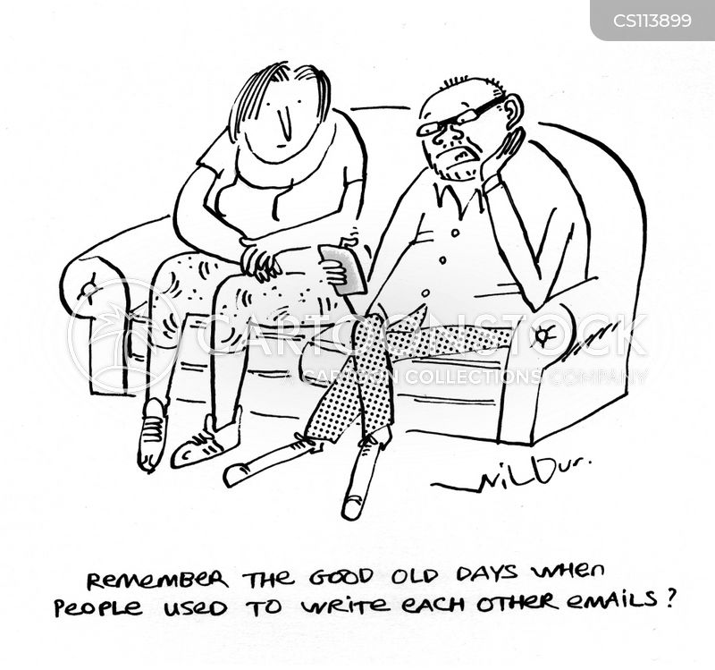 Letter Writing Cartoons And Comics Funny Pictures From Cartoonstock