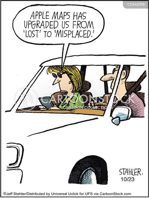 misplaces cartoon
