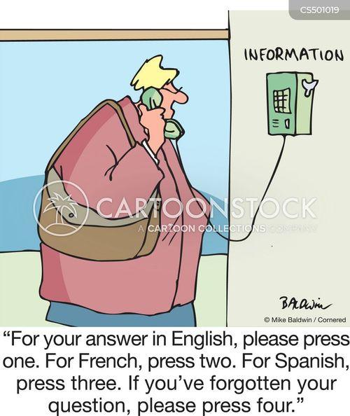 call for help cartoon