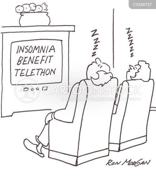 fast asleep cartoon