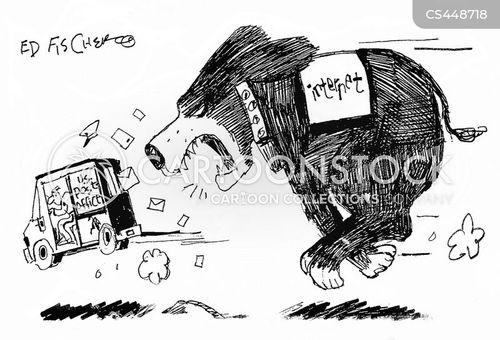 vicious dog cartoon