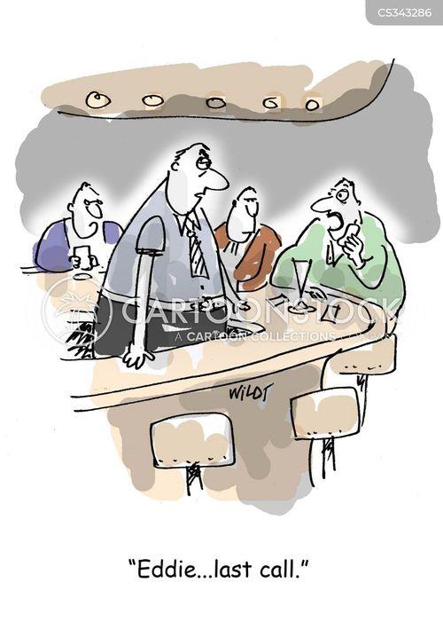 last call cartoon