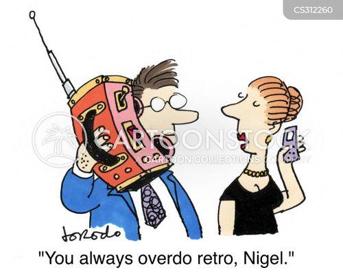 overdoing it cartoon
