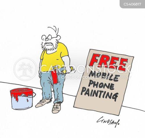 paint job cartoon