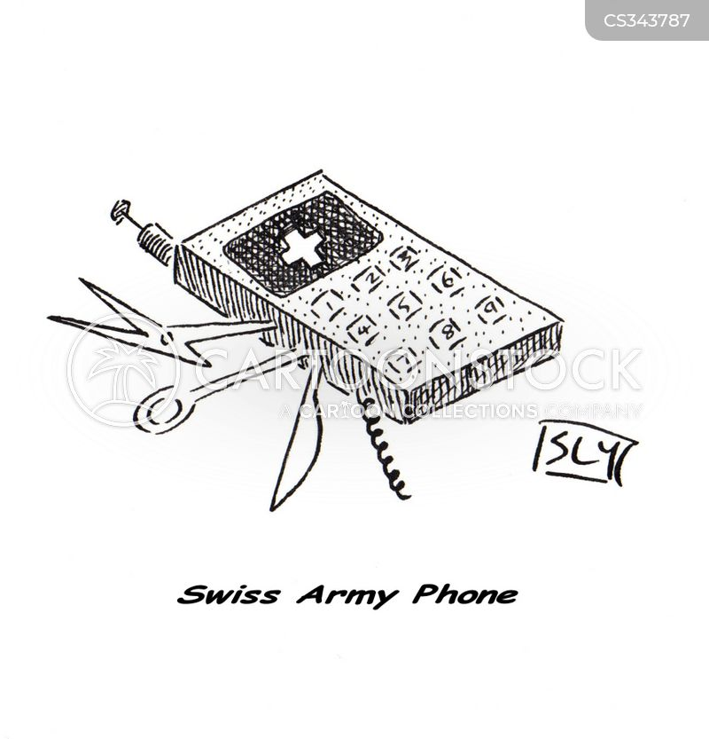 Swiss Army Knife Cartoons And Comics Funny Pictures From
