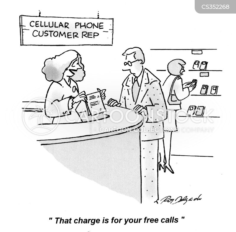 telephone bill cartoon