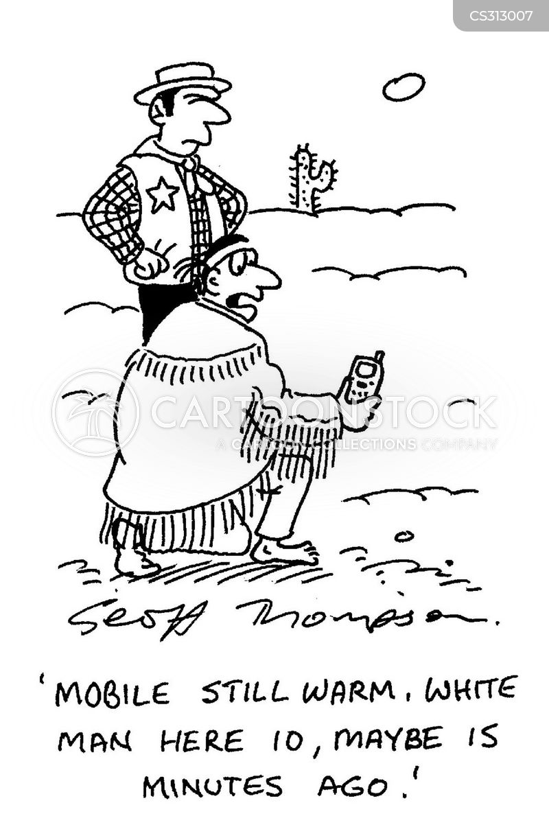 mobile telephones cartoon