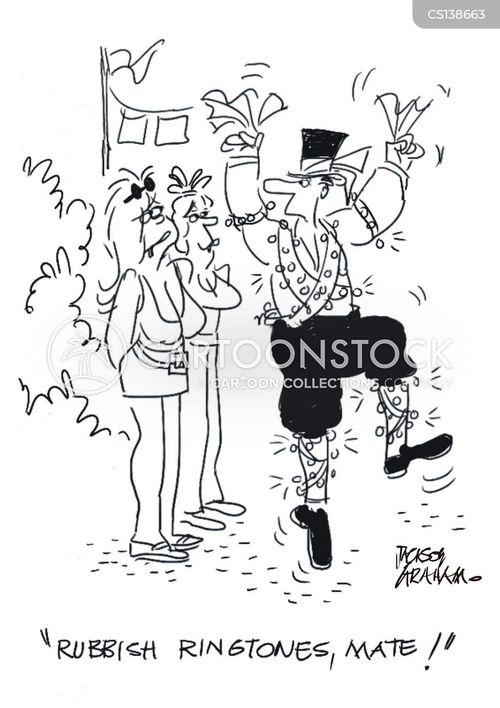 morris dancer cartoon