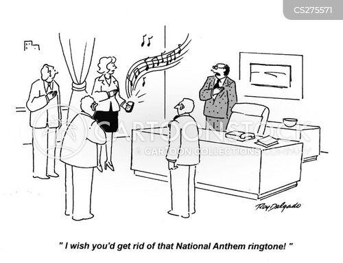 national anthems cartoon