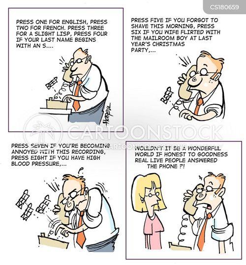 voice mails cartoon
