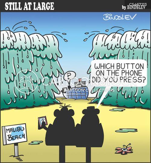 mobile app cartoon