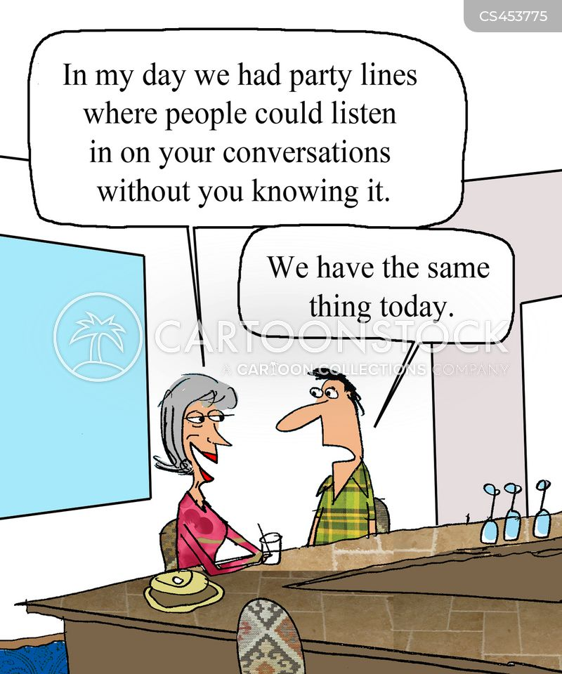 party wire cartoon