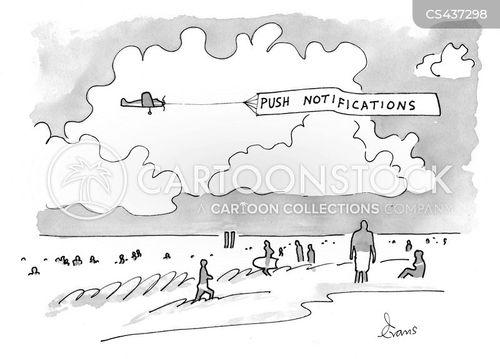 aerial advertisements cartoon