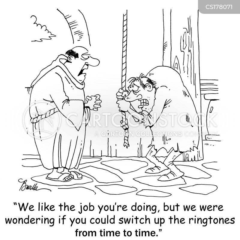 bell ringers cartoon