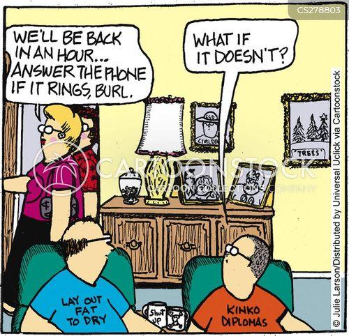 telesales cartoon