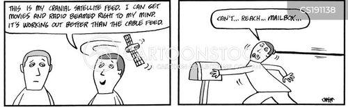 cable feed cartoon