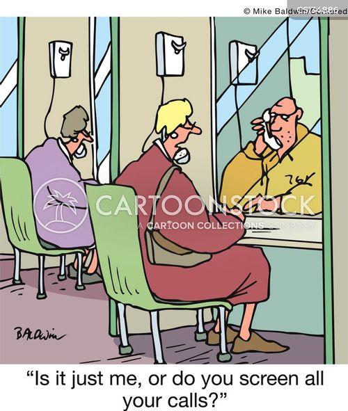 call screening cartoon