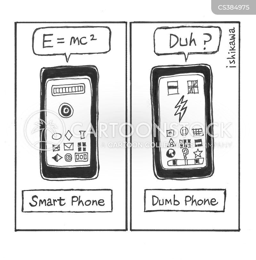 dumbness cartoon