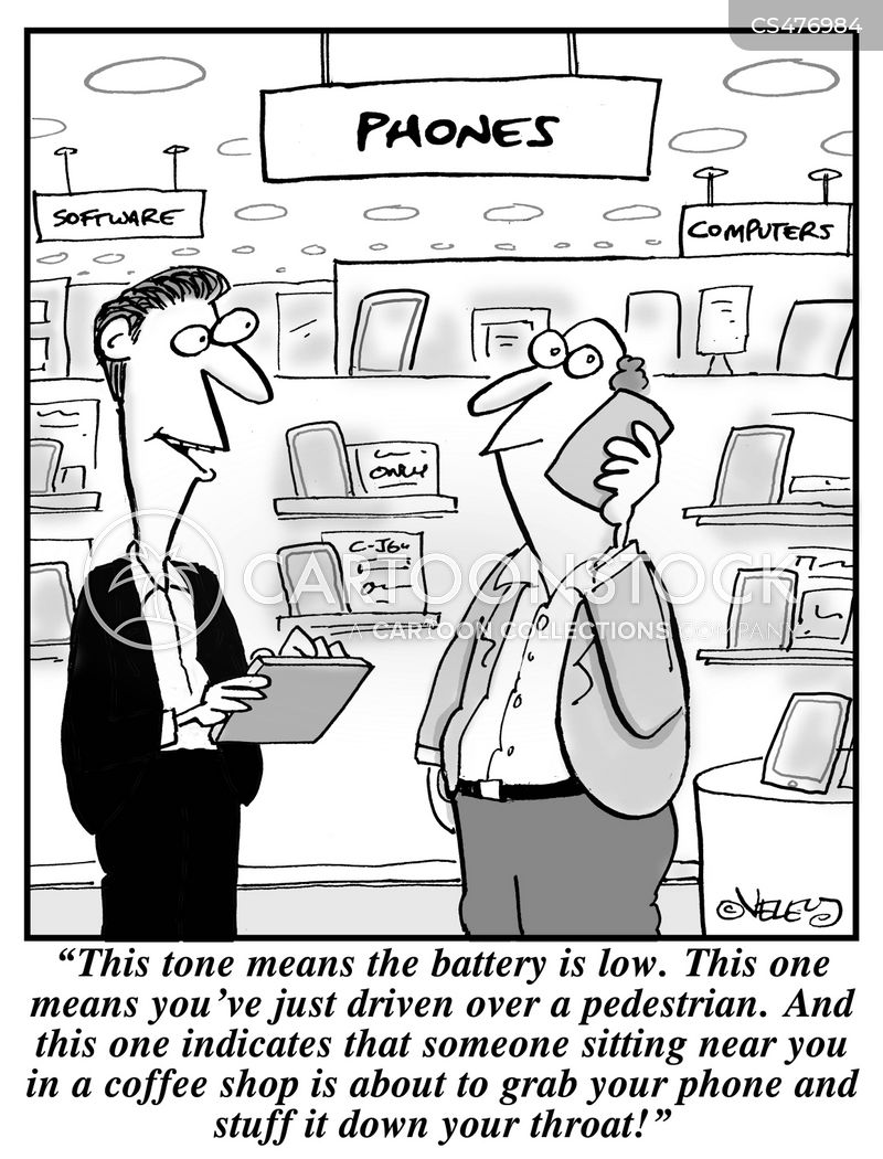 low battery cartoon