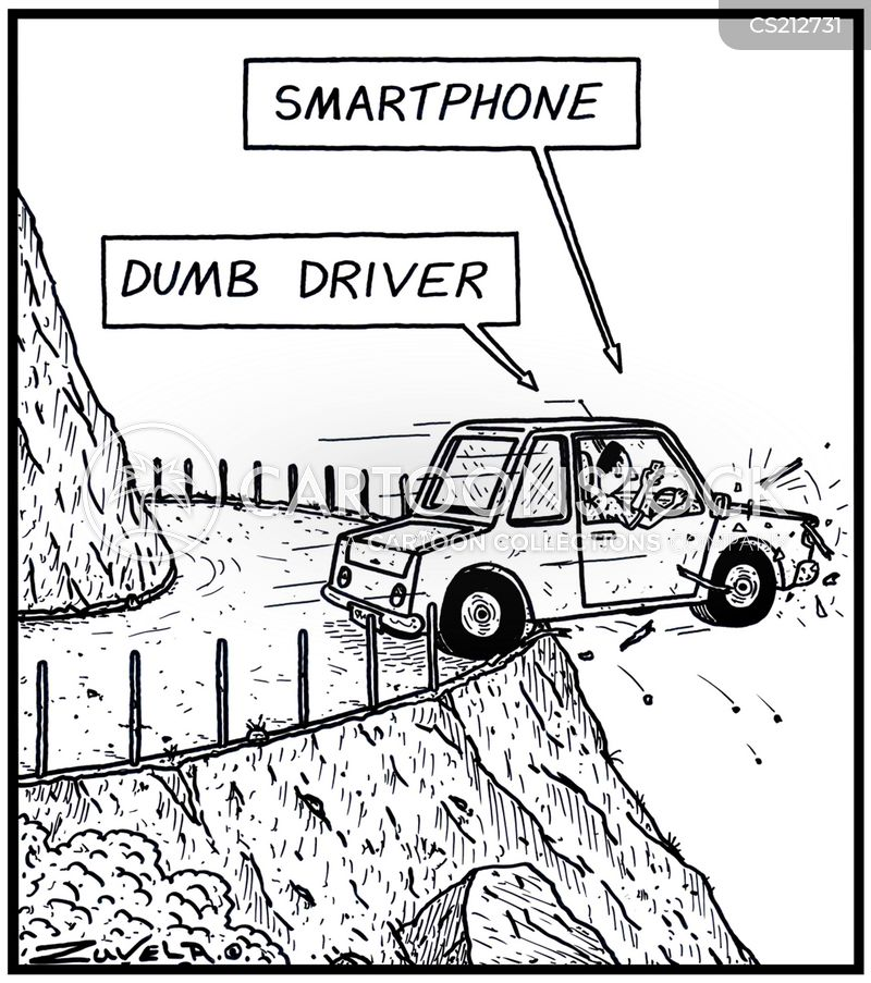dumbness cartoon