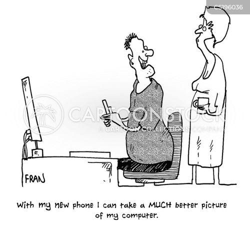 camera phones cartoon