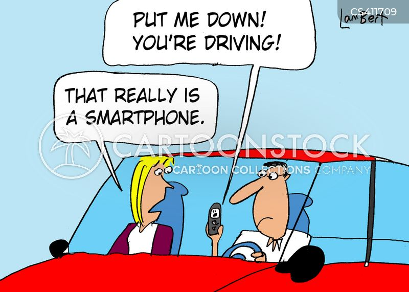 driving offences cartoon