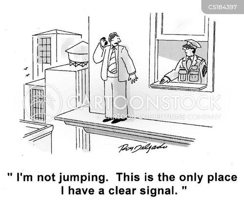clear signals cartoon