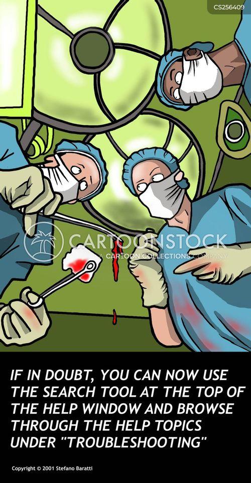 internet doctor cartoon