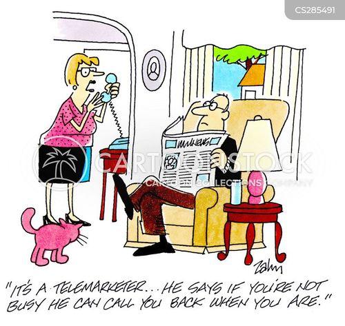 too busy cartoon