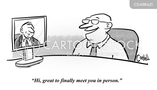 social distance cartoon
