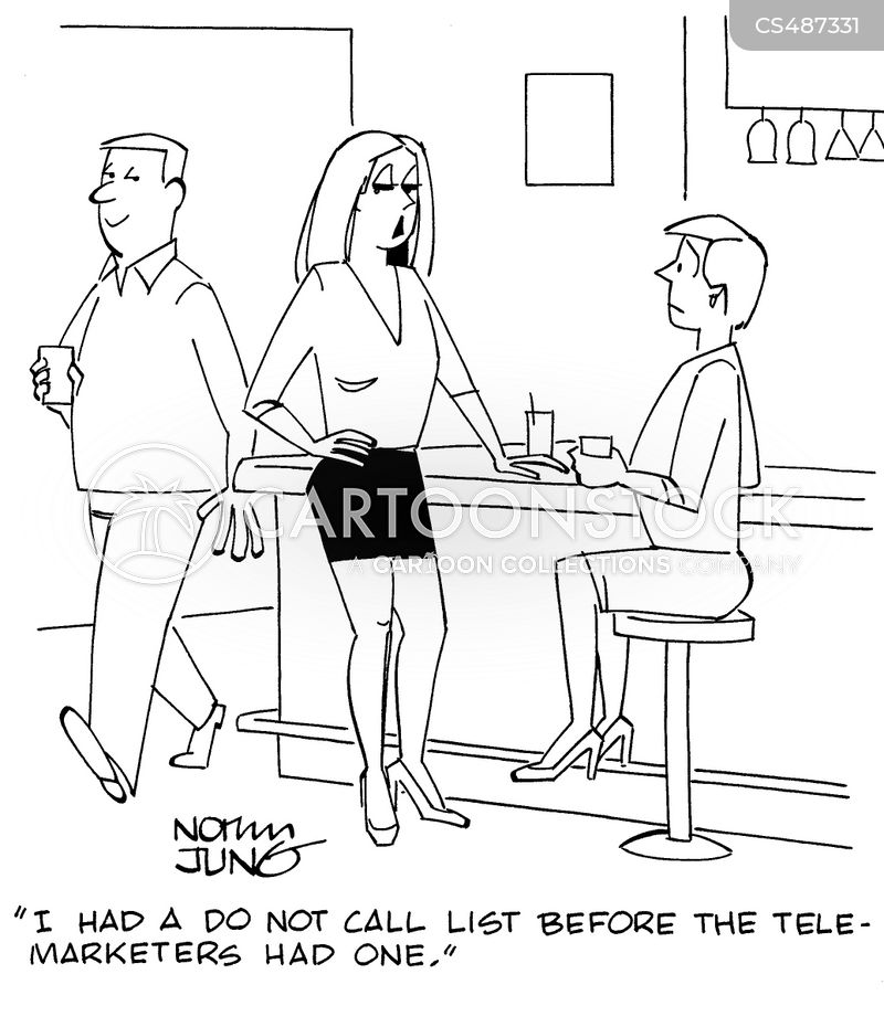 do not call list cartoon