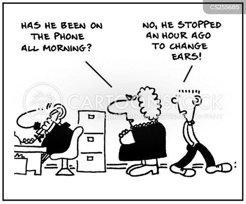tele-sales cartoon