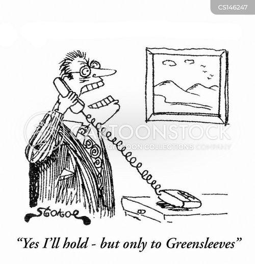 greensleeves cartoon
