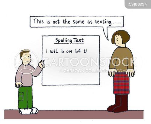 text speech cartoon