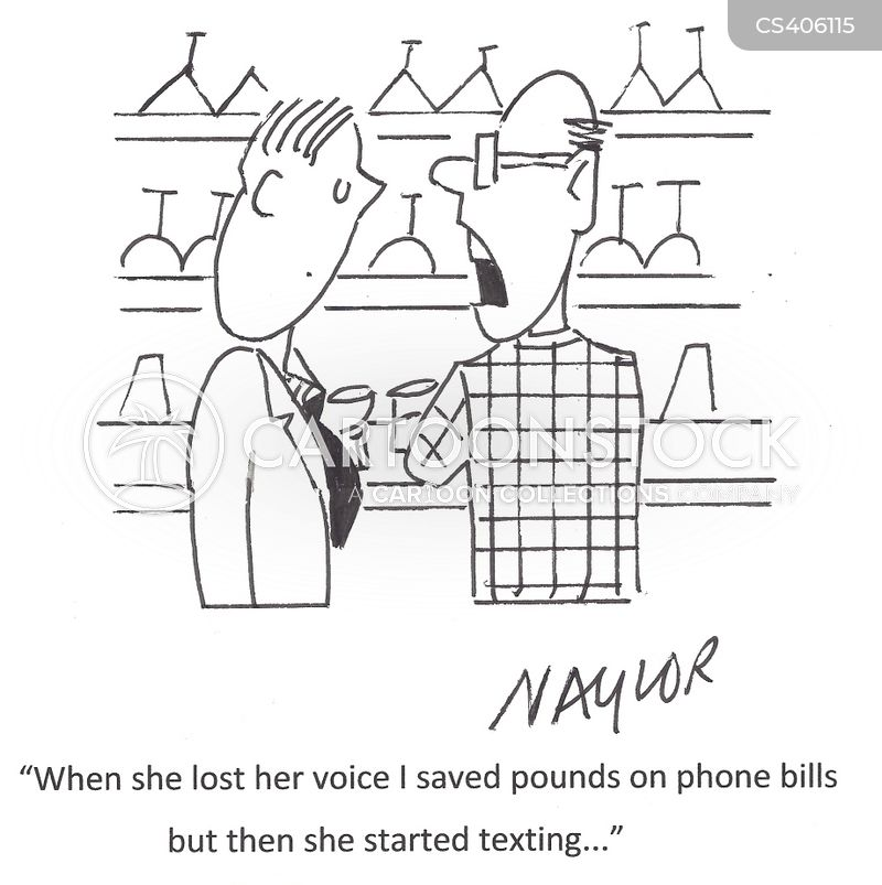 mobile bills cartoon