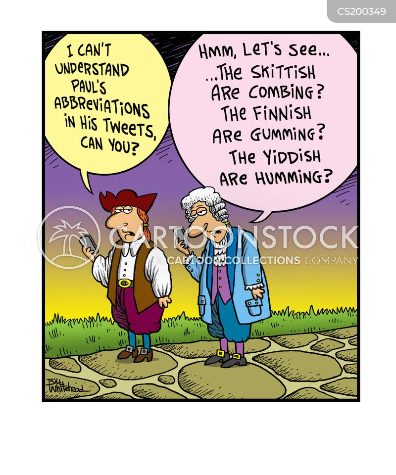 abbreviations cartoon