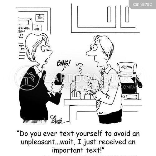 employee lounge cartoon
