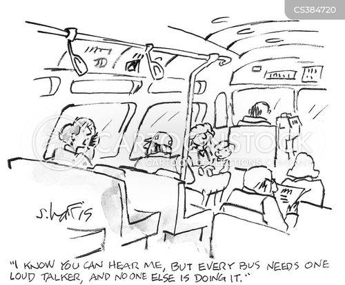 talking loudly cartoon