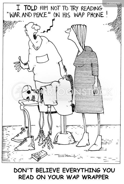 radiation sickness cartoon