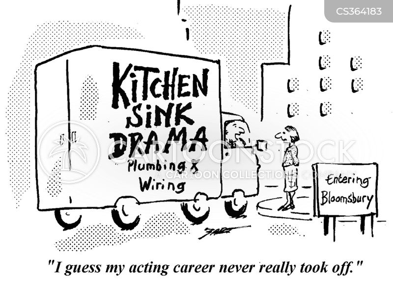 kitchen sink drama cartoon